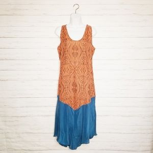 Sundance Silk Maxi Dress Size Large